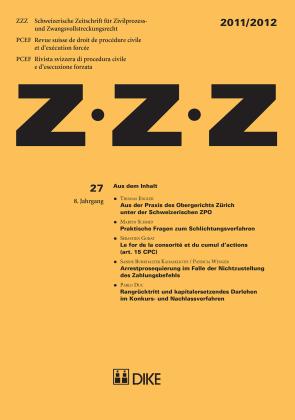 ZZZ 2011/2012 Heft 27