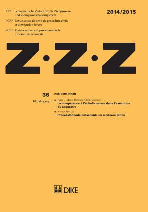 ZZZ 2014 / 2015 Heft 36