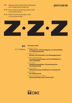 ZZZ 2017/2018 Heft 41