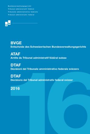 BVGE 2016