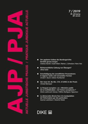 AJP/PJA 7/2019