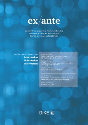 ex/ante 1/2019