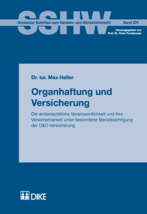 Organhaftung und Versicherung