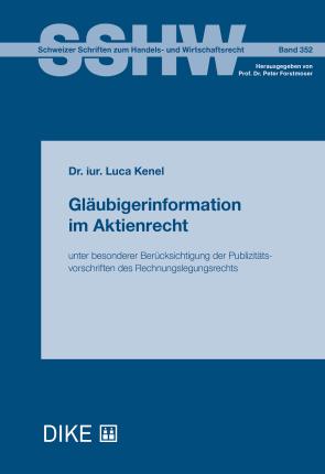 Gläubigerinformation im Aktienrecht