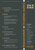 Strassenverkehr / Circulation routière 1/2021