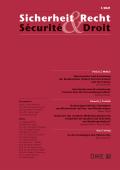 Sicherheit & Recht / Sécurité & Droit 01/2021