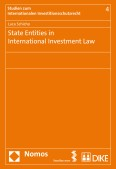 State Entities in International Investment Law