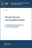 Private Normen und staatliches Recht