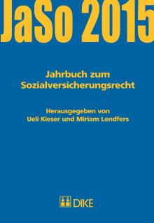 Jahrbuch zum Sozialversicherungsrecht 2015