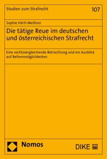 Die tätige Reue im deutschen und österreichischen Strafrecht