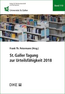 St. Galler Tagung zur Urteilsfähigkeit 2018