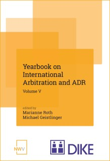 Yearbook on International Arbitration and ADR