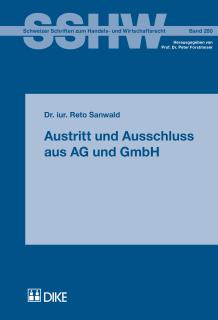 Austritt und Ausschluss aus AG und GmbH