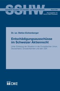 Entschädigungsausschüsse im Schweizer Aktienrecht