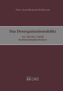 Das Desorganisationsdelikt