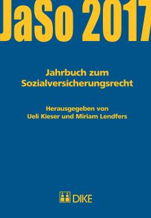 Jahrbuch zum Sozialversicherungsrecht 2017