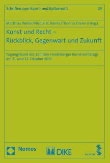 Kunst und Recht – Rückblick, Gegenwart und Zukunft